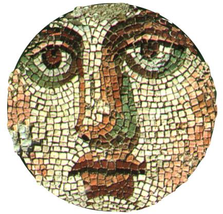 Volto mosaico